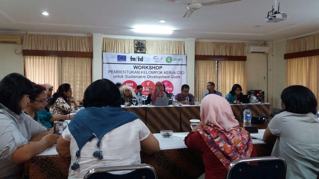 Infid - Workshop Pembentukan Kelompok Kerja CSO
