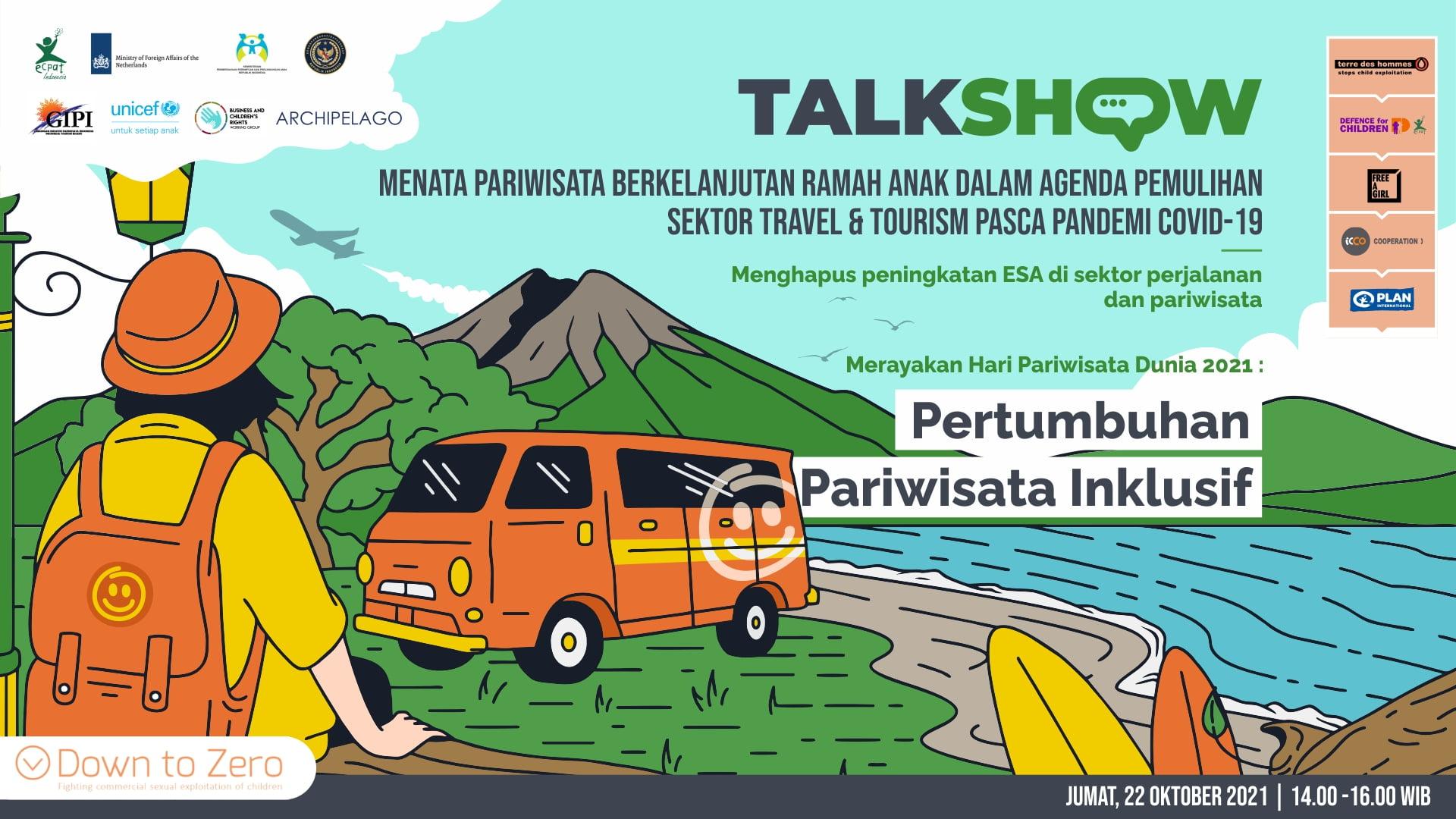 Banner Bahasa - Talkshow World Tourims Day 2021